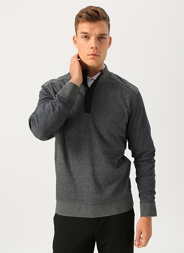 Cotton Bar Sweatshirt Gri